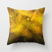Textures/Abstract 19 Throw Pillow by ViviGonzalezArt