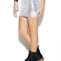 Sequin Bodycon Mini Skirt | Wet Seal