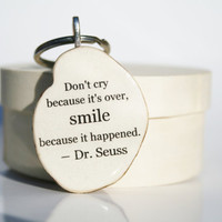Dr Seuss key chains graduation gift  key charm by starlightwoods