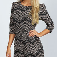 Luna Tribal Print Playsuit