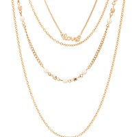 PEARL LOVE LONG-STRAND NECKLACE