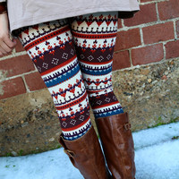 Neutral Fun Leggings