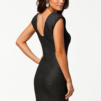 Metalic Thread Bodycon Dress