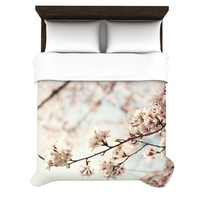 "Catherine McDonald ""Japanese Cherry Blossom"" Woven Duvet Cover 