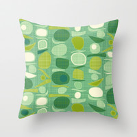 balance Throw Pillow by Sharon Turner