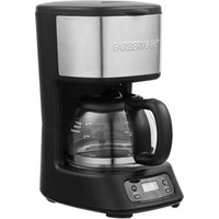 Walmart: FARBERWARE 5-Cup Programmable Coffee Maker, Black & Stainless