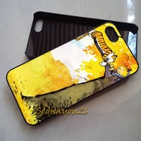 Calvin & Hobbes on iPhone 5C Case, iPhone 5S/5 Case, iPhone 4S/4 Case, Samsung Galaxy S3/S4, Premium Case Cover