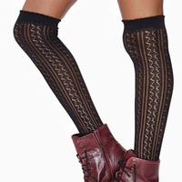 Delilah Knee High Socks