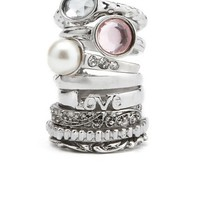 ALL STACKED UP RING SET