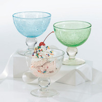 Bubble Glass Sundae Dishes by tag®
