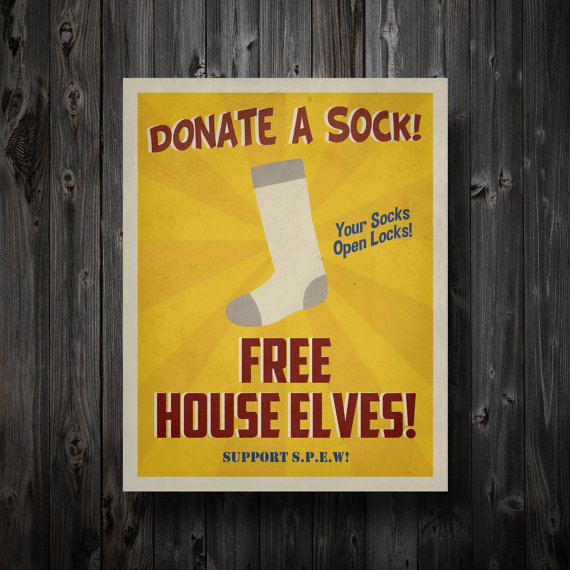Harry Potter Inspired SPEW House Elves by EntropyTradingCo on Etsy