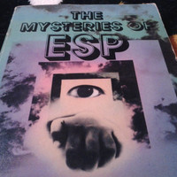 The Mysteries of ESP by Alice Fleming. 1980 Vintage Occult Paperback on ESP and Precognition.