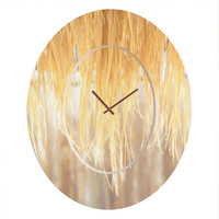 Lisa Argyropoulos Bungalow Oval Clock