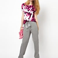 House of Holland Maribou Sweat Pants