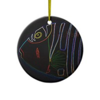 Humuhumunukunukuapua'a Abstract Ornament