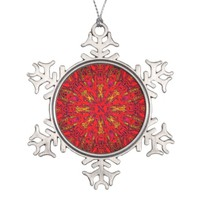 FIRE Element Kaleido Pattern ornament