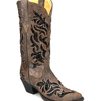 Corral Boots Sequin Inlay Cutout Boots | Dillard's Mobile