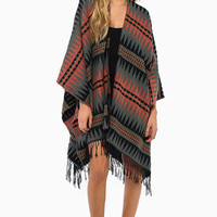Into the Night Poncho $40