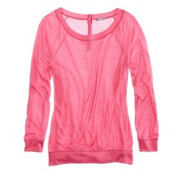 AERIE SOFT BUTTON-BACK T-SHIRT