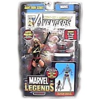 Marvel Legends Exclusive Series Action Figure Warbird (Ms. Marvel) with Giant Man Builder Piece