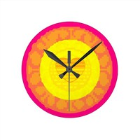 Heart of A Star Wall Clock
