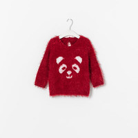 SWEATER WITH ANIMAL FACE