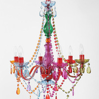 Large Rainbow Chandelier - Urban Outfitters