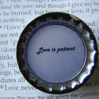 Love is Patient Magnet - Purity - 1 Corinthians 13 : 4 - 8