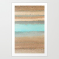 abstract watercolor  Art Print by Linnea Heide