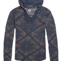 Volcom Scruggs Hooded V-Neck Shirt at PacSun.com