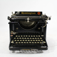 Vintage Remington 12 Standard Typewriter
