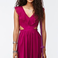 Ruffled Cutout Dress in Clothes Dresses Day at Nasty Gal