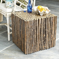 Woodland Square End Table | Ballard Designs