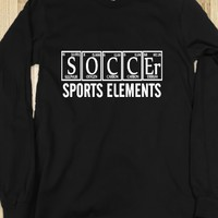 Skreened Soccer Sports Elements LS Tee