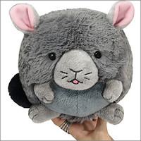 Mini Squishable Chinchilla: An Adorable Fuzzy Plush to Snurfle and Squeeze!
