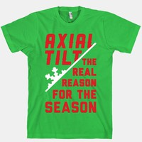 Axial Tilt Reason For The Season