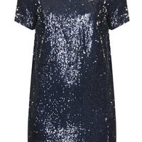**SEQUIN BOXY LINED DRESS BY OH MY LOVE