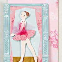 NEW Meri Meri Dancer on Stage Ballet Enclosure Card