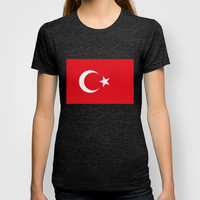 The National flag of Turkey - Authentic version T-shirt by LonestarDesigns2020 - Flags Designs +