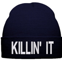 Beauty ForeverThe Killin It Beanie Swag Beanie Dope Beanie killinit - TeeeShop