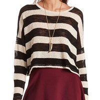 STRIPED HACCI CROP TOP
