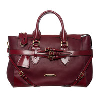 Burberry Large Bridle Leather Gladstone Travel Bag