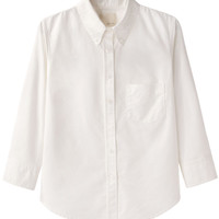 Band of Outsiders Cropped Sleeve Shirt | La Garçonne