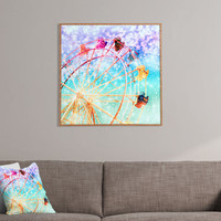 Lisa Argyropoulos Galaxy Wheel Framed Wall Art