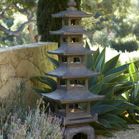 Pagoda Outdoor Sculpture