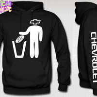 car chevrolet Throwing Ford in Trash Hoodie