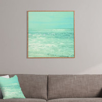 Lisa Argyropoulos Where Ocean Meets Sky Framed Wall Art