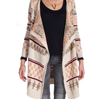 Dusty Tribal Cardigan
