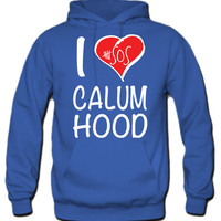 I Love Calum Hood 5 Seconds Of Summer Hoodie - TeeeShop