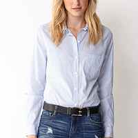 Essential Striped Button-Down